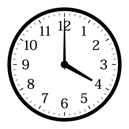 時計 16時 に対する画像結果